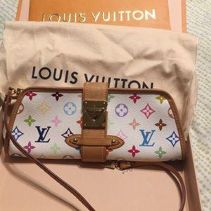 Louis Vuitton Shirley White/Multicolor